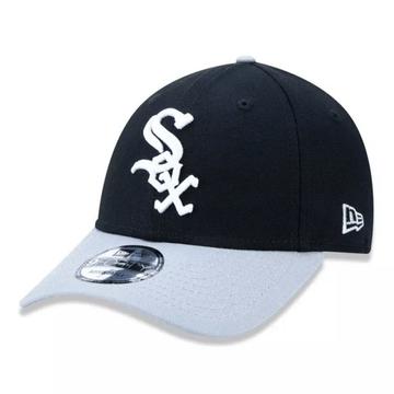 Bone-New-Era-9Forty-MLB-Chicago-White-Sox-Preto
